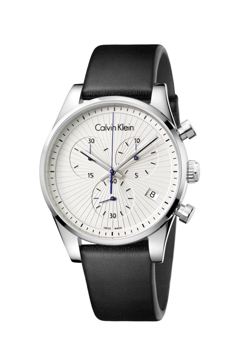 Calvin Klein Steadfast堅定系列計時腕表,約10,500元。...