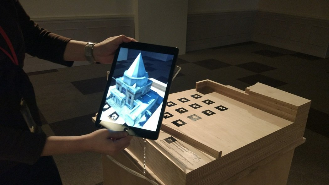 國家圖書館與捷克科學學院合作舉辦「瀕危的摩蘇爾古蹟」特展,透過AR、3D列印讓這...