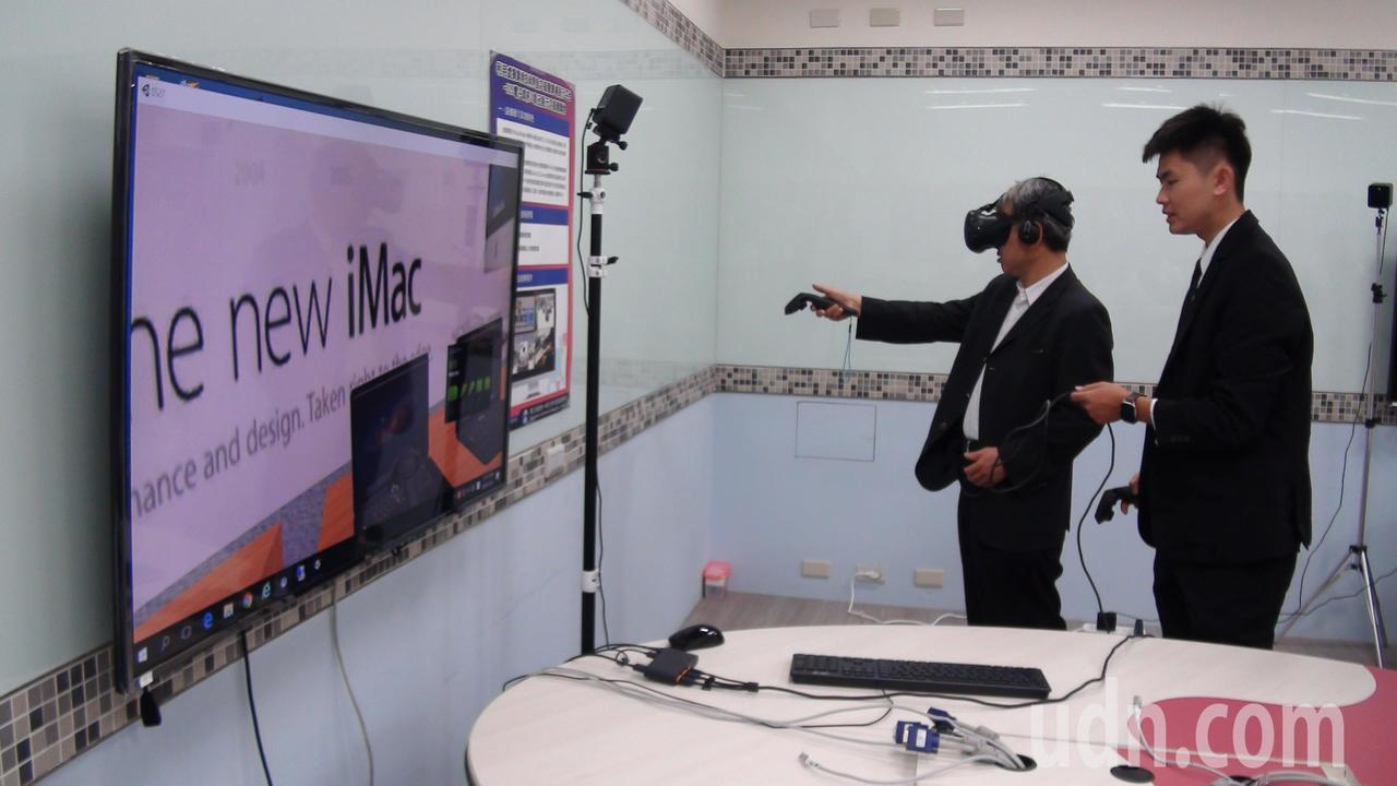 玩家只要頭戴VR顯示器,手持控制器,就能逛仿真立體博物館,盡覽世界名畫,或在虛擬...