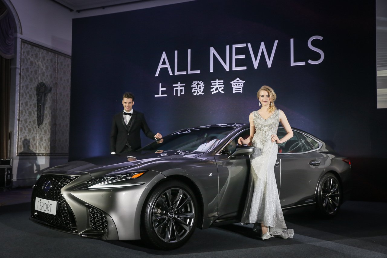 LEXUS總代理和泰汽車發表全新旗艦房車LS車系,建議售價為457萬到497 萬...