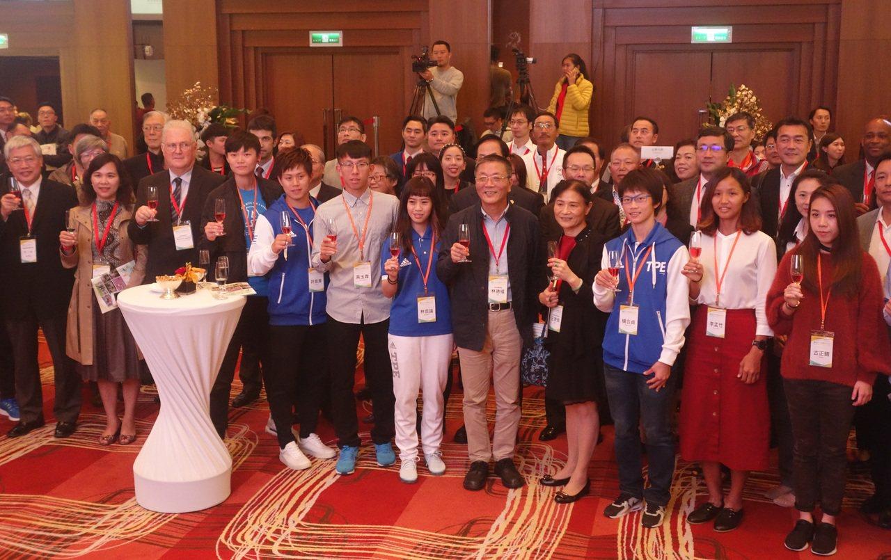 國際賽事精彩一整年,21日產官學及選手一同參與成果發表會。圖/體育署提供