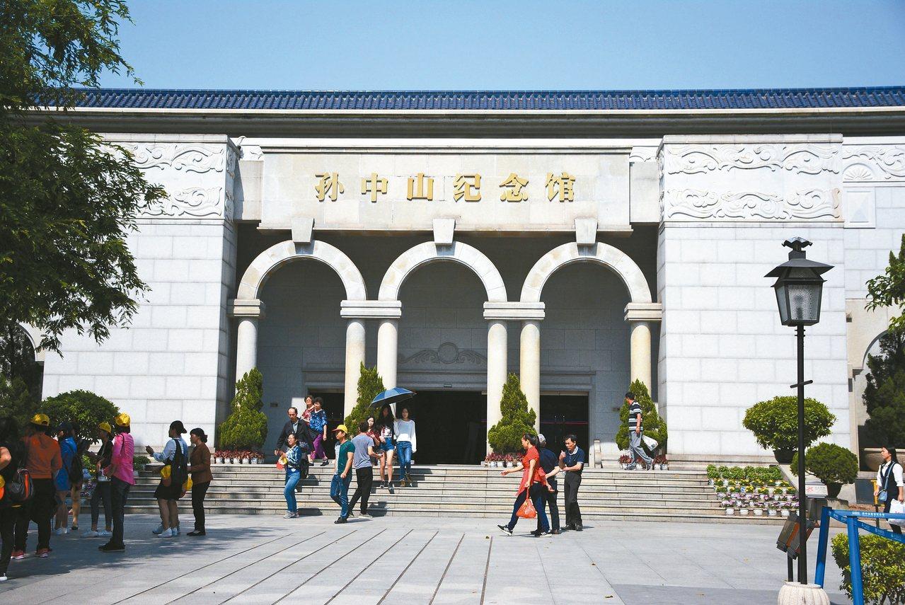 孫中山紀念館外路燈的外型,為孫中山當年所設計。