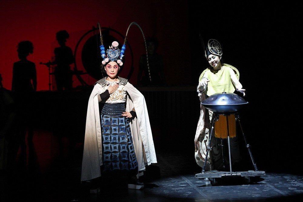 擊樂劇場「木蘭」,下月將在高雄演出。 圖/朱宗慶打擊樂團