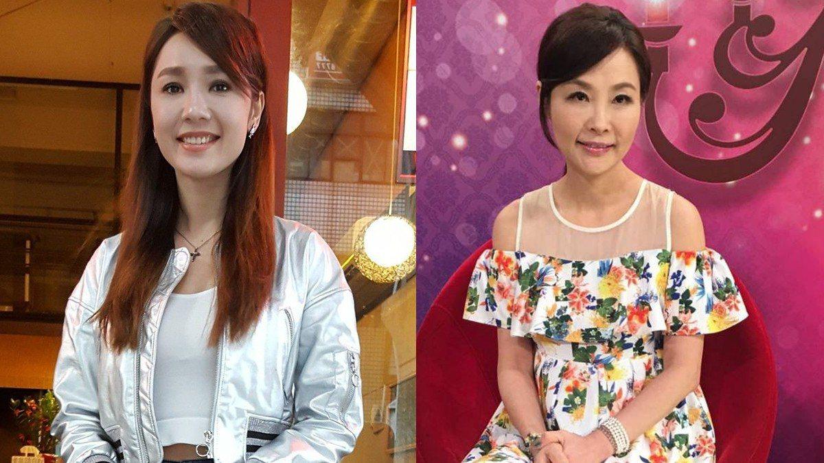 海倫清桃(左)說已經原諒許聖梅。 圖/記者林怡秀攝影、JET電視台提供