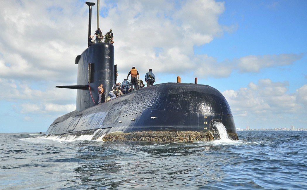 「聖胡安號」是德國製柴電潛艦。 (美聯社)