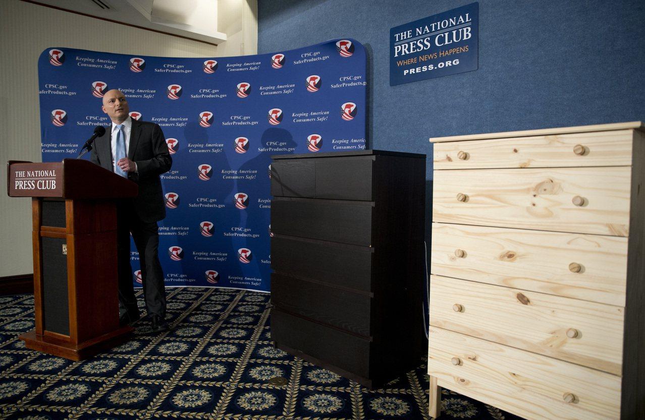 Ikea再次發出通告,召回1730萬衣櫃。記者歐陽慶平/攝影