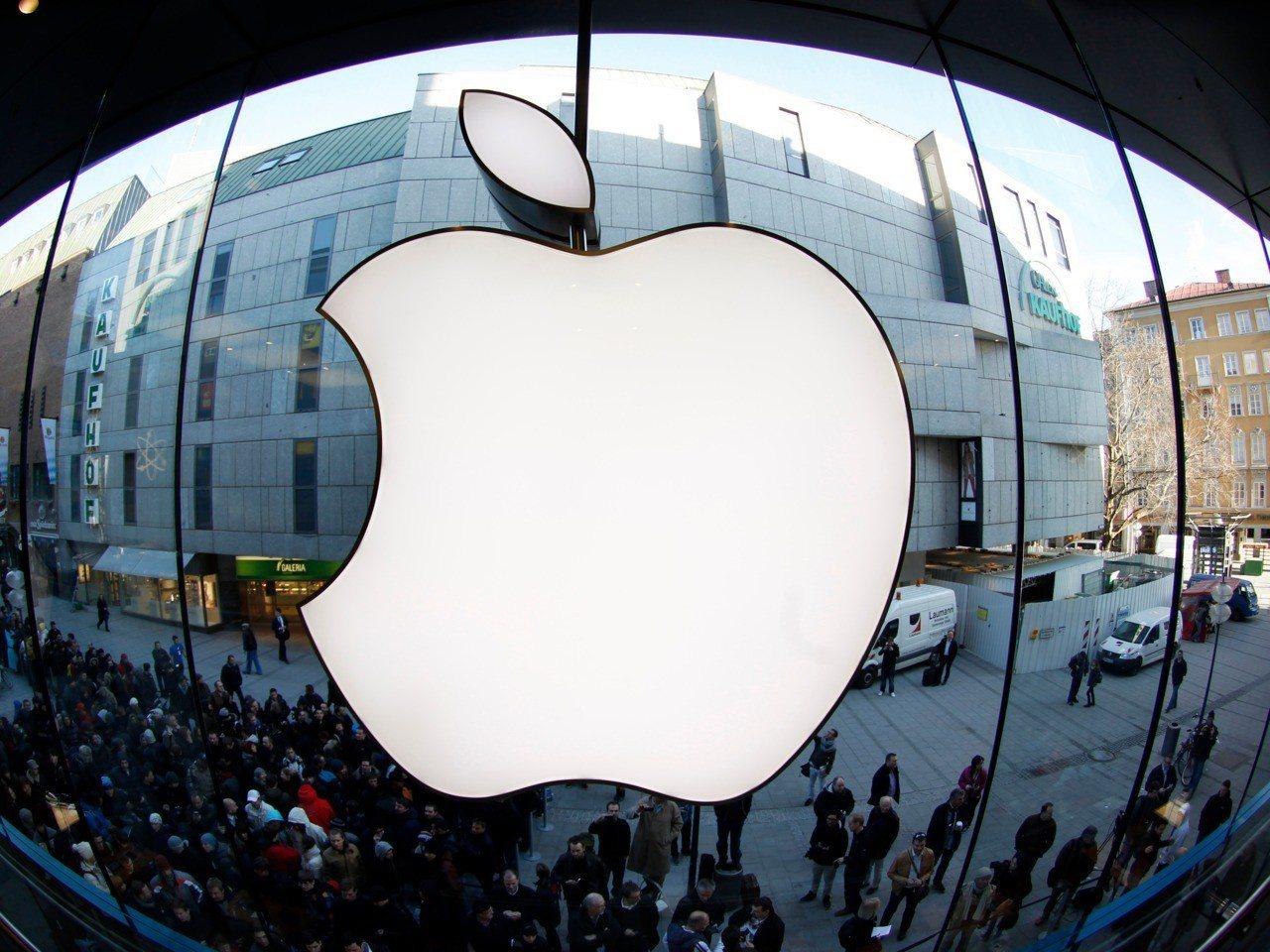 蘋果。 REUTERS