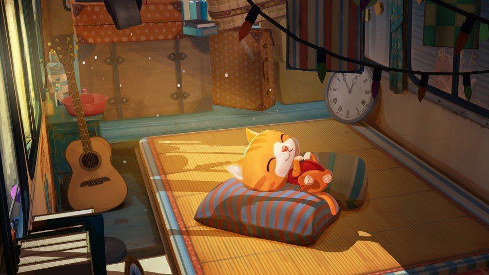 「小貓巴克里」是12年後首度入圍金馬獎最佳動畫長片的台灣作品。圖/牽猴子提供