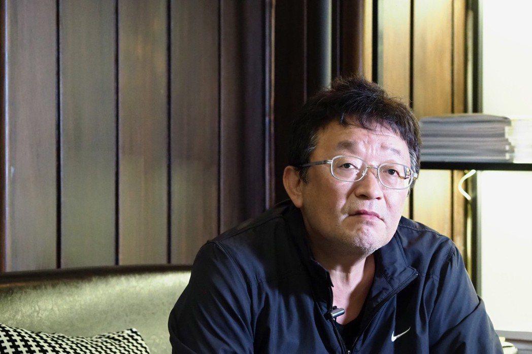 台灣新巨輪服務協會理事長陳安宗。 攝影/許伯崧