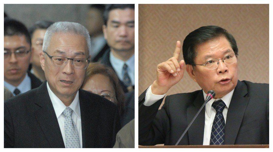 吳敦義、簡太郎22日澄清,他們沒涉喬聯貸案。(photo by醒報資料庫)