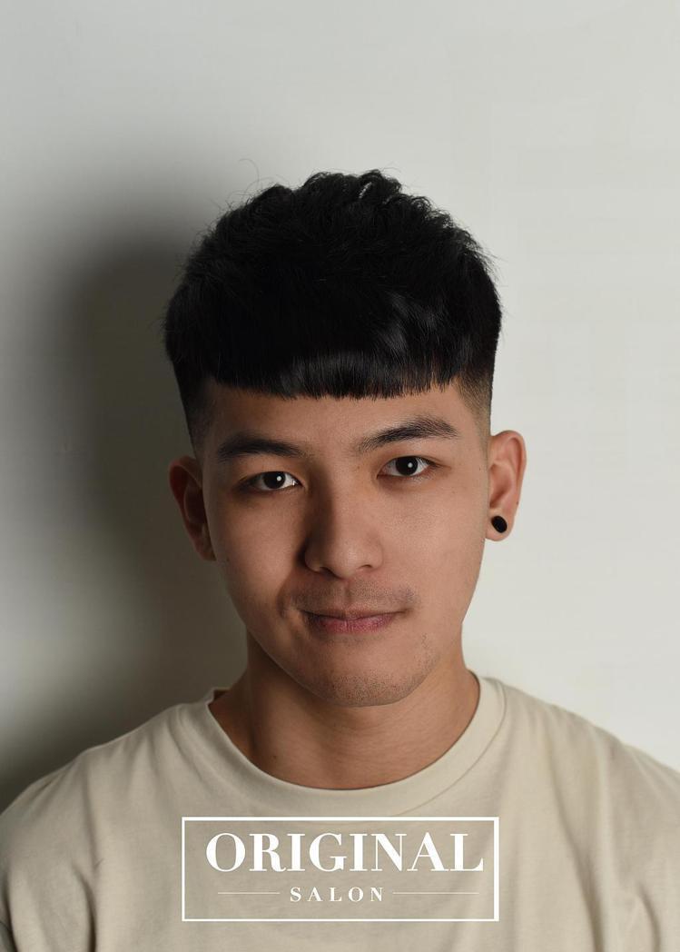 髮型創作/Momo Liu。圖/HairMap美髮地圖提供