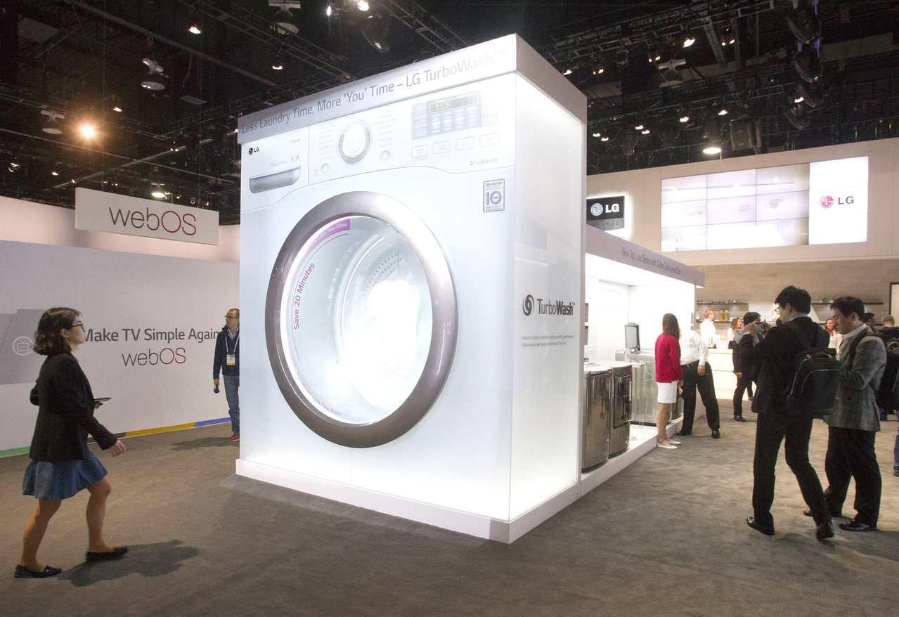 ITC建議向韓國三星電子和LG電子徵收重稅,防來廉價洗衣機充斥美國市場。(路透)