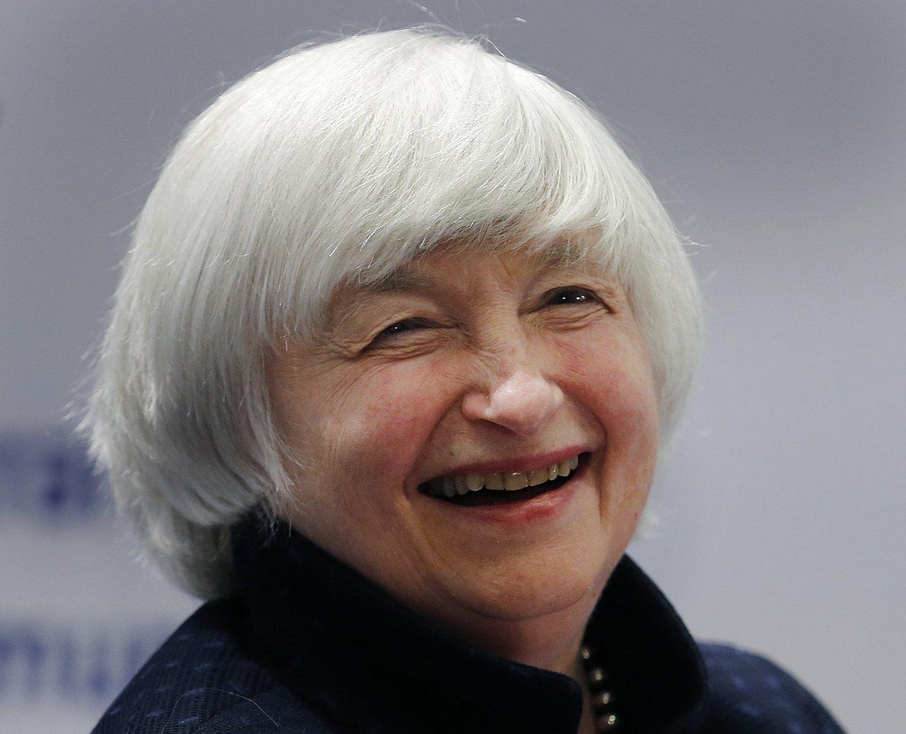 葉倫表示Fed不希望經濟大起大落,應維持漸進升息。(美聯社)