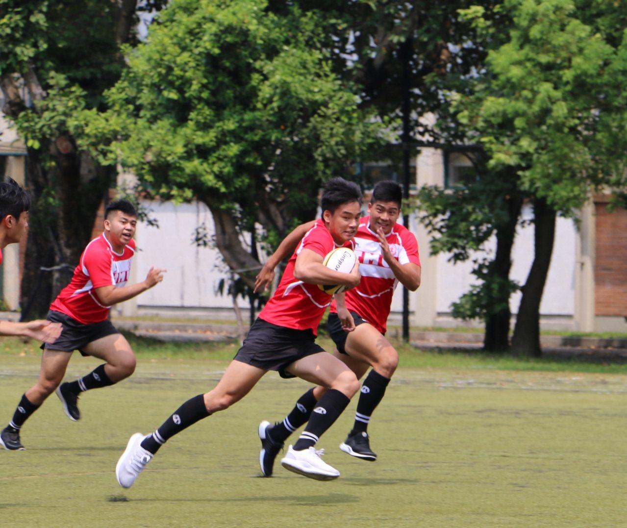 台北醫學大學首支甲組橄欖球今年正式成軍。圖/北醫大提供