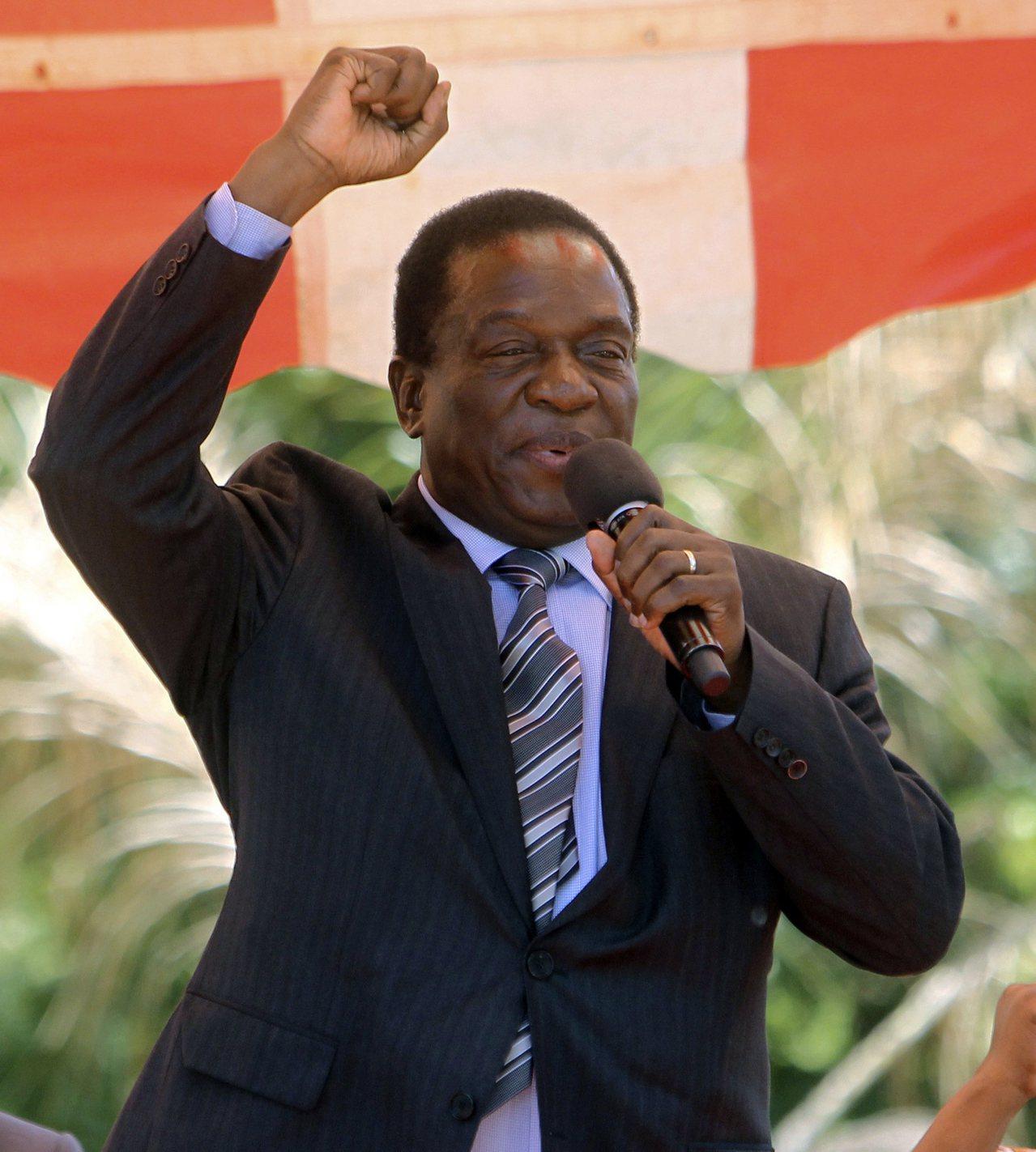 綽號「鱷魚」的辛巴威前副總統姆南加瓦即將繼任總統。美聯社