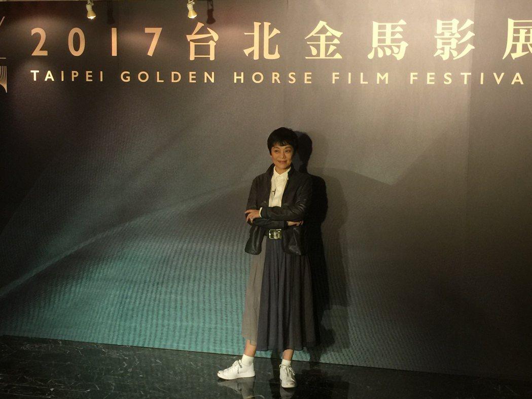 張艾嘉出席金馬影展「馬來西亞之夜」活動。記者蘇詠智/攝影