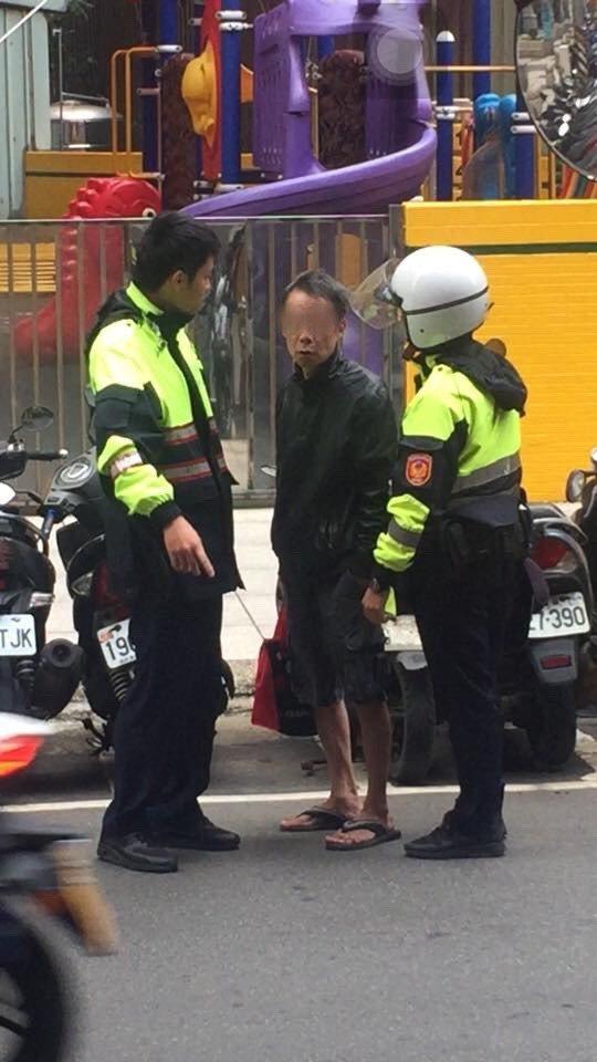 警方在案發一個小時之內逮捕竊嫌。 記者林昭彰/翻攝