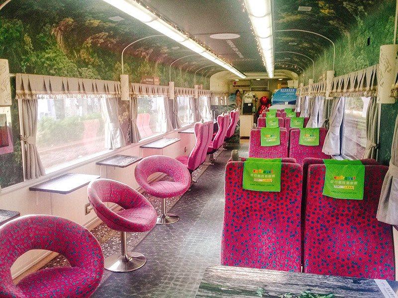 環島之星暖心溫泉列車。易遊網/提供