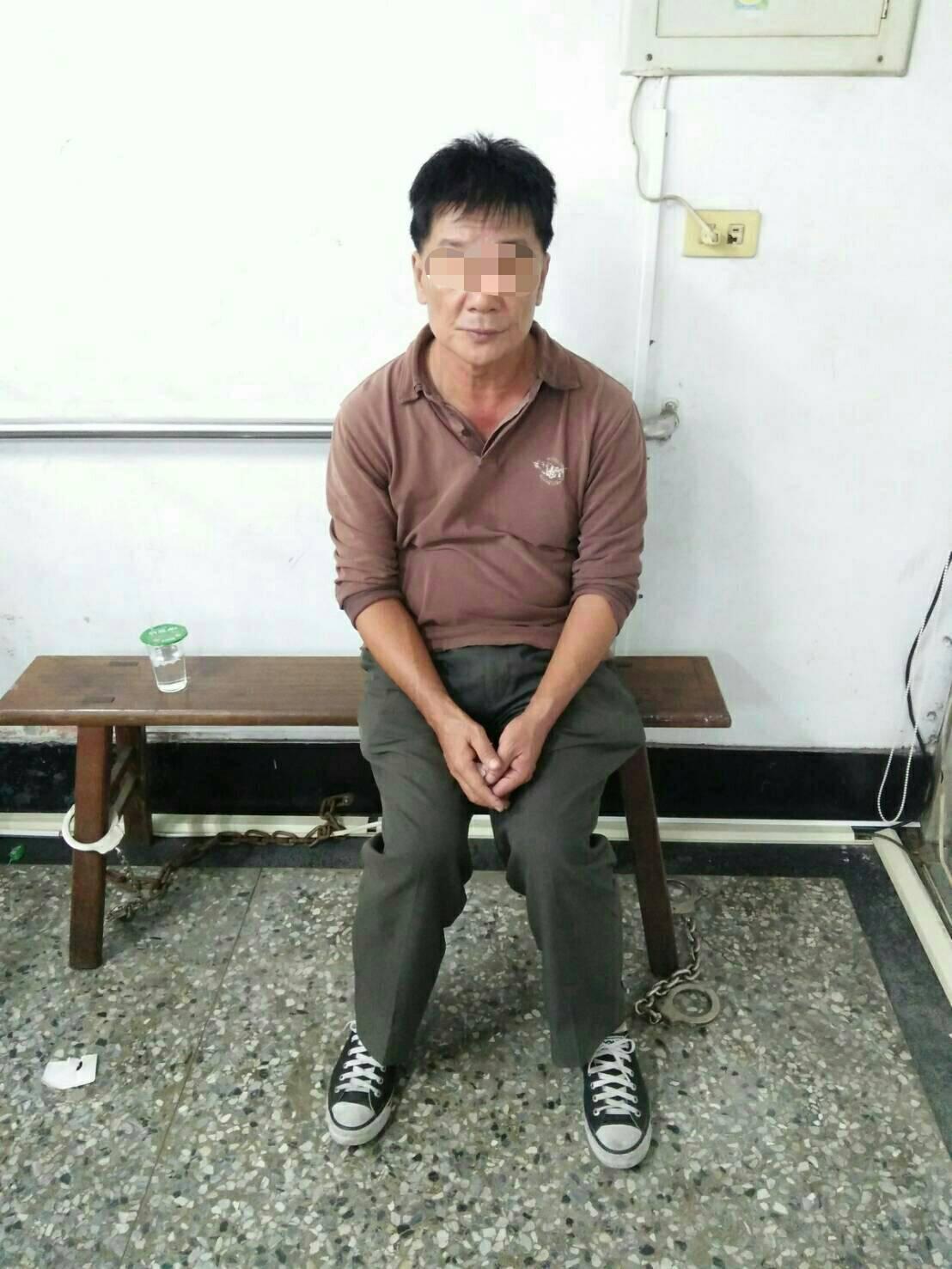 高雄市薛姓男子涉嫌向老人詐騙取財,警方依詐欺罪嫌法辦。記者黃宣翰/翻攝