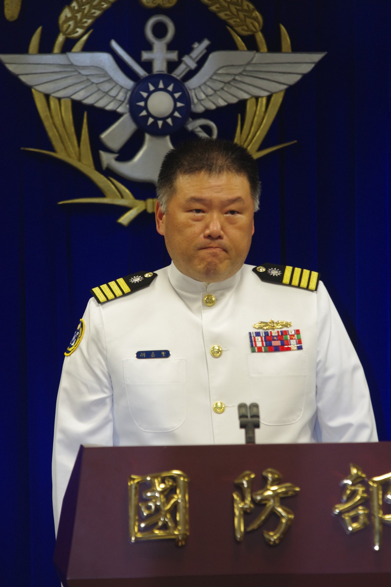 海軍計畫處副處長胡嘉聖,總共被記過兩次、申誡兩次,「災情」最重。資料照,記者程嘉...