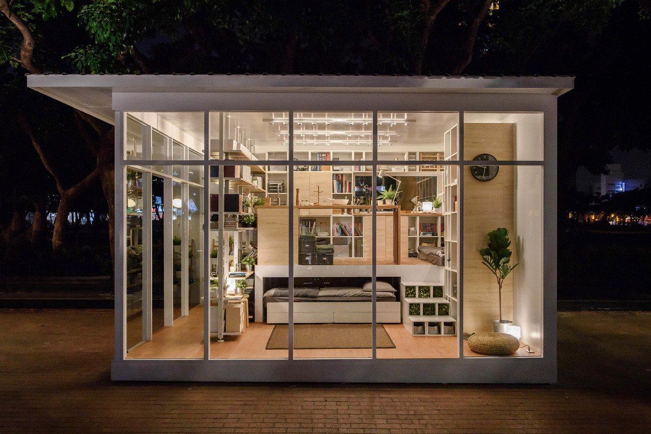 愛書人的夢幻之家。圖/IKEA提供