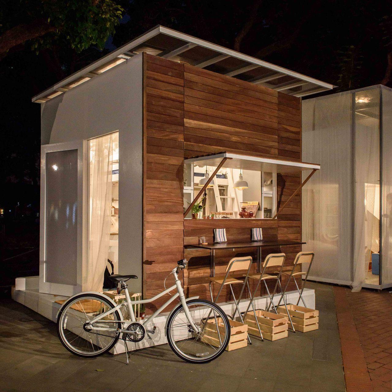文青風的居家咖啡館。圖/IKEA提供
