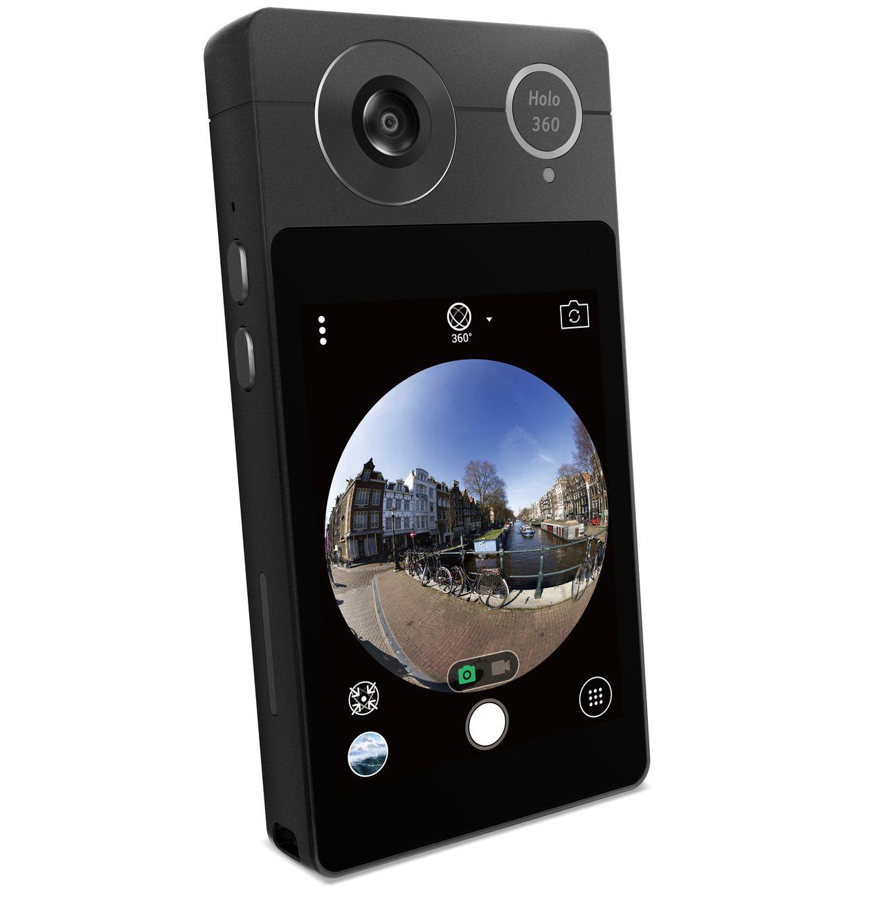 Acer Holo360配備3吋觸控螢幕,支援Wi-Fi、4G LTE、藍牙等3...