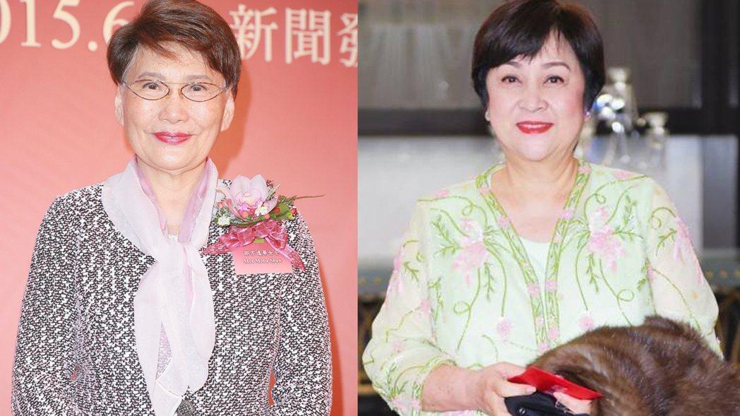 得知方逸華傳因病在港去世,甄珍語帶哽咽表示她就像一個大姐姐。圖/摘自臉書、CFP