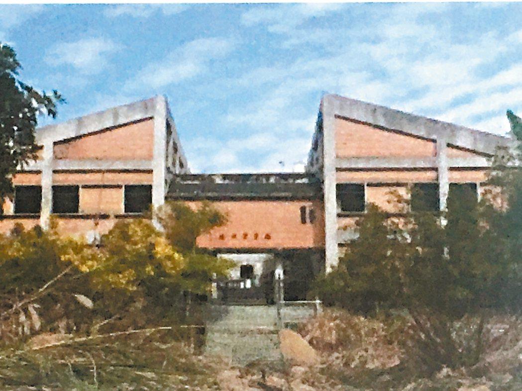 原東勢高工因921大地震,校園荒廢18年。 圖/台中市教育局提供
