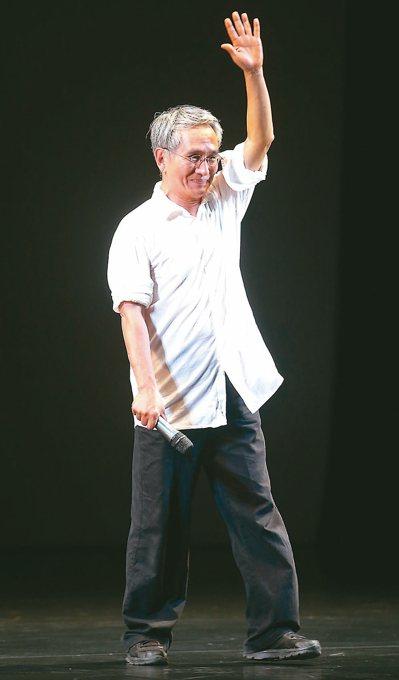 雲門舞集藝術總監林懷民昨宣布,二○一九年底將自藝術總監一職退休。圖為雲門去年的中...