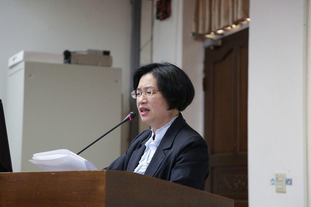 國民黨立委王惠美。 本報資料照片