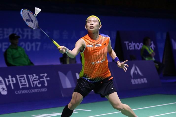 戴資穎仍穩居世界第一,至今已穩坐后座連續52週。。 圖/Badminton ...
