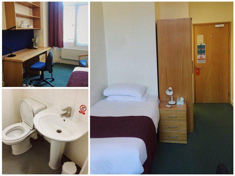 房間的配備十分陽春,比較適合不拘小節、重視地點方便性的遊客。另外提醒各位,旅館沒...