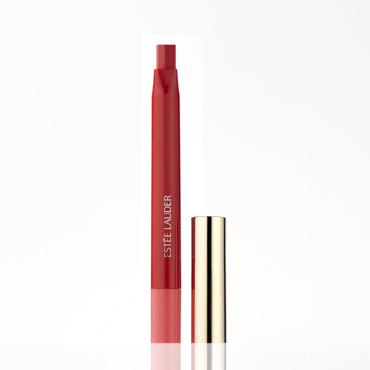 玩色戀愛雙色唇膏,#355壞壞女神,900元。圖/雅詩蘭黛提供