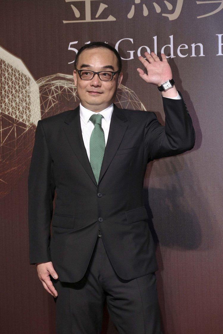 易智言拿下第51屆金馬獎憑《行動代號:孫中山》最佳原著劇本獎項,配戴伯爵腕表。