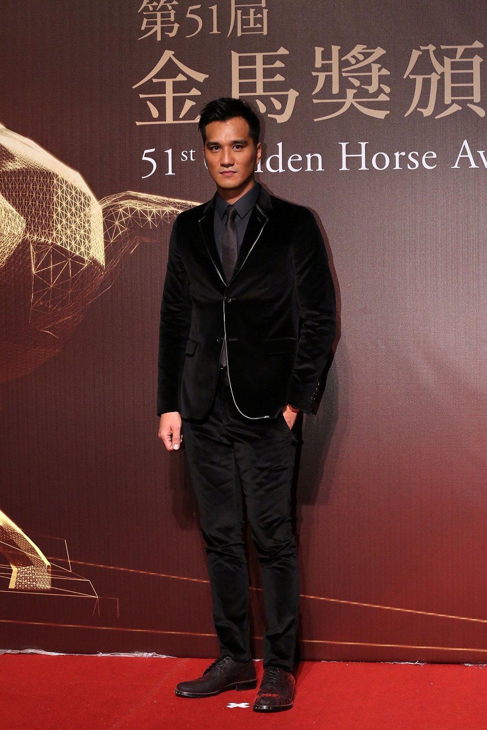 配戴伯爵腕錶的馬志翔當年以《KANO》獲「第51屆金馬獎」費比西獎。圖/伯爵提供