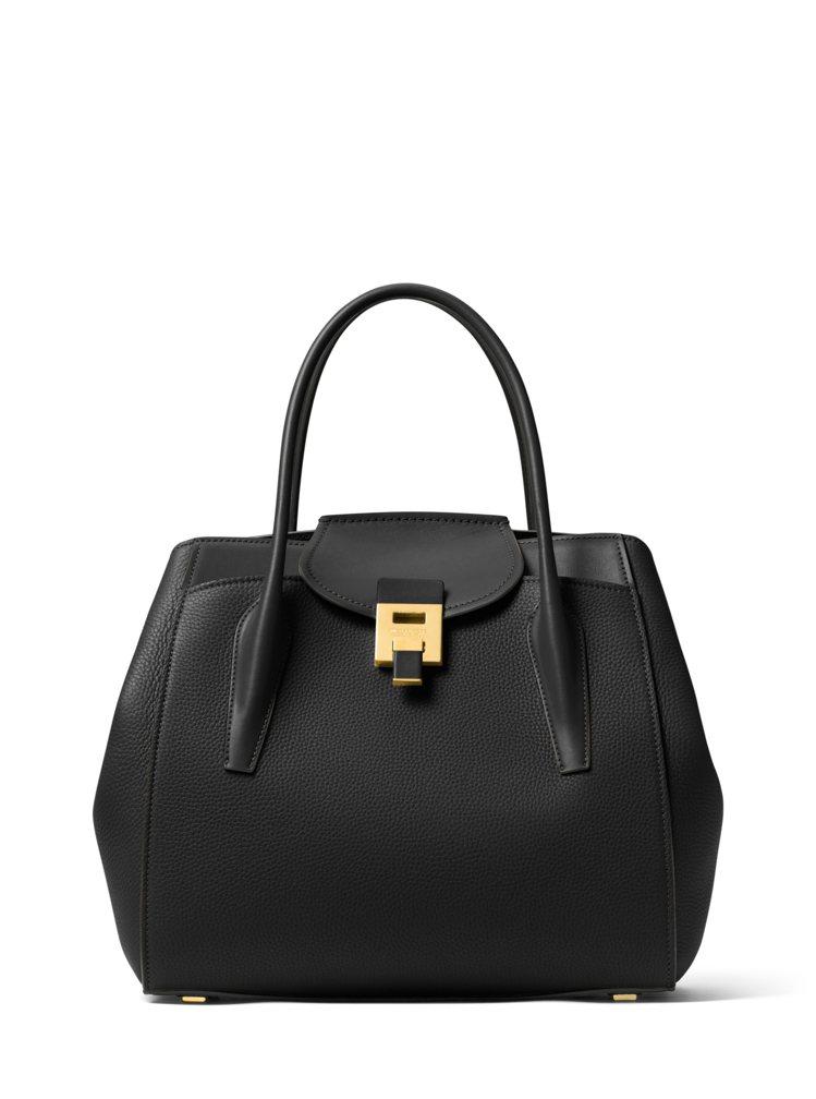 Bancroft經典黑色手提包(大),售價41,900元。圖/MICHAEL K...
