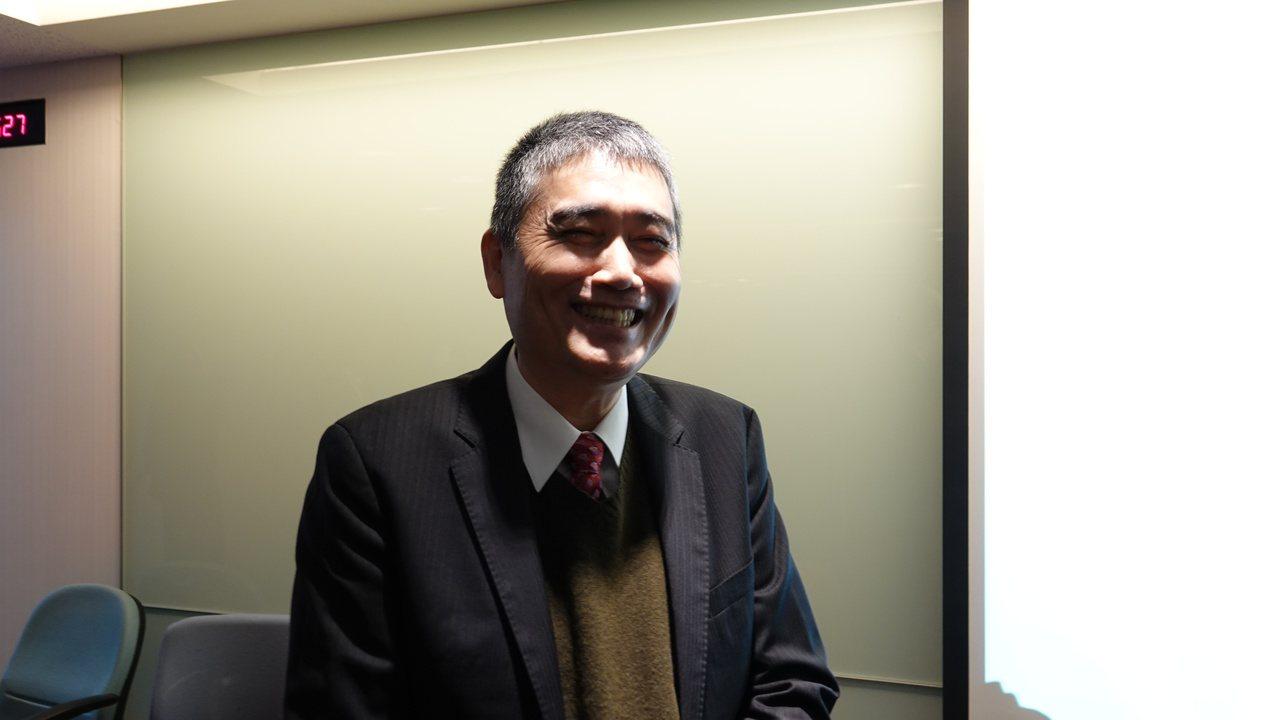 建國工程總經理吳昌修。郭及天/攝影
