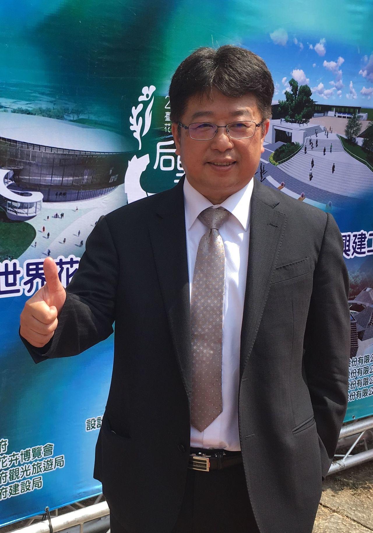 瑞助營造董事長張正岳。記者宋健生/攝影