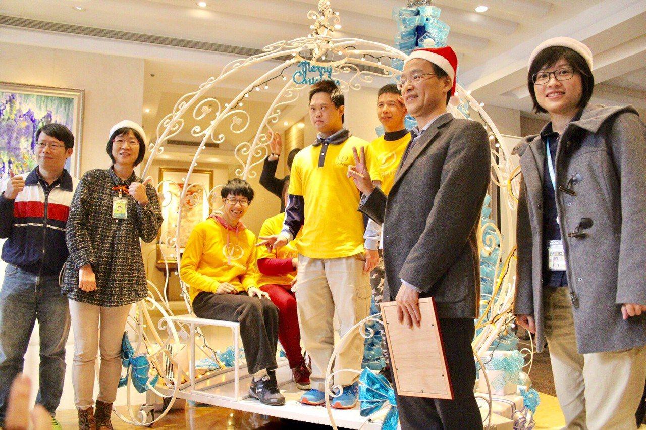 「2017年圓夢行動」於今(23)日在新竹老爺大酒店宣布正式啟動,要將愛傳遞28...