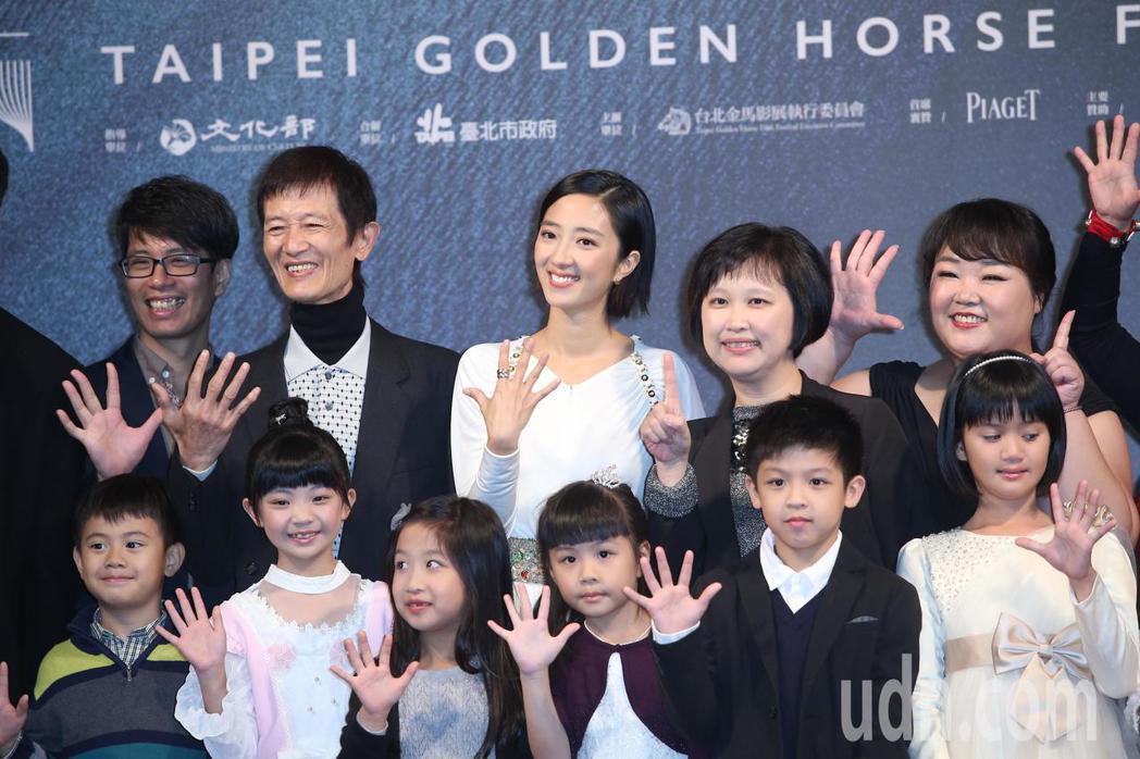 金馬影展閉幕片「幸福路上」首映。記者陳瑞源/攝影