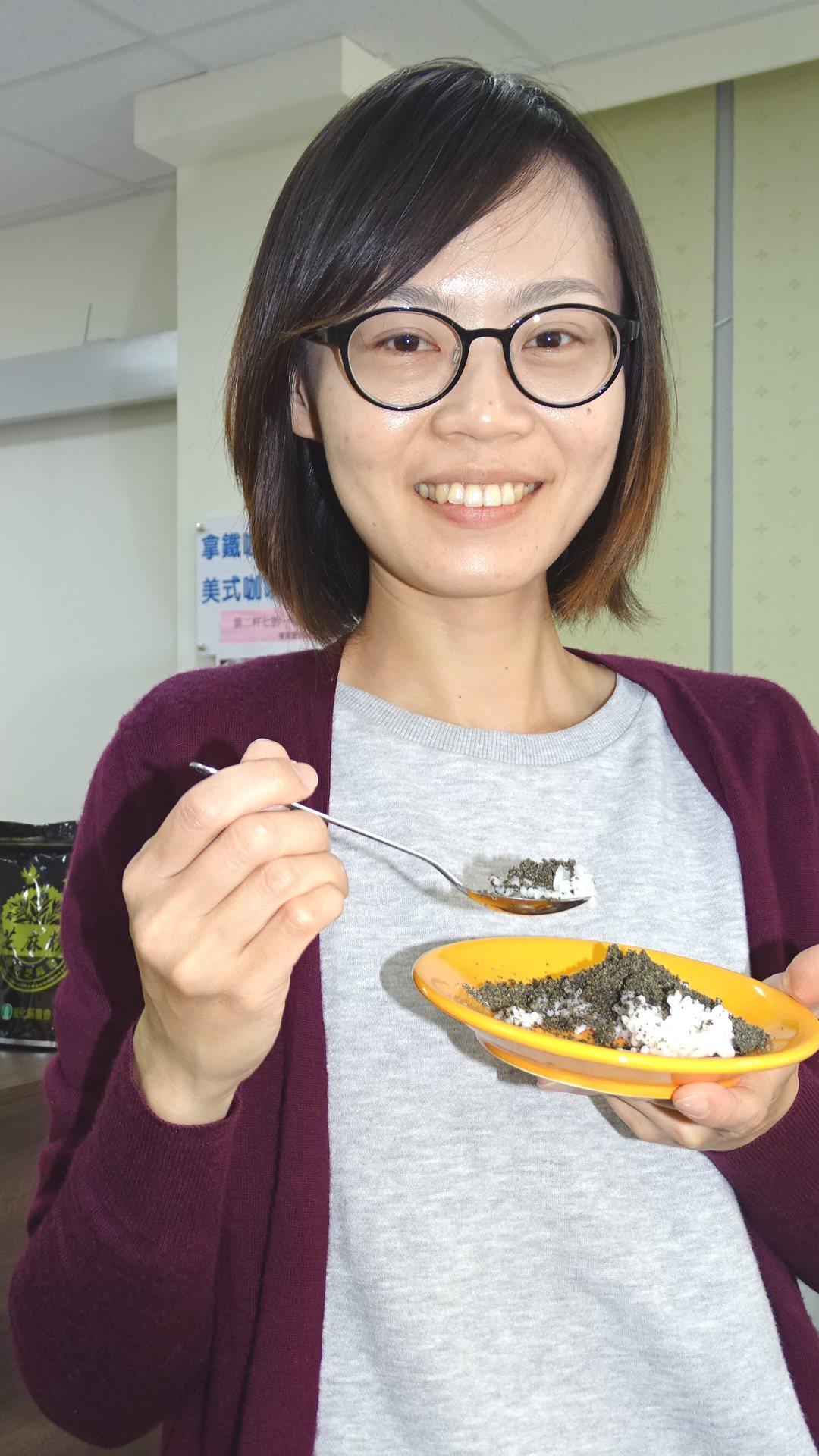 台南善化農會、公所周六、日辦理胡麻季農業產業文化活動,展示新研發的芝麻飯。記者謝...