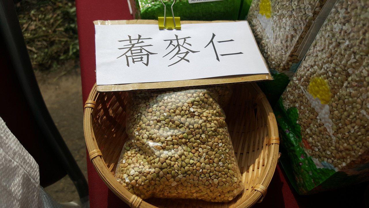 蕎麥的營養價值高。記者胡蓬生/攝影