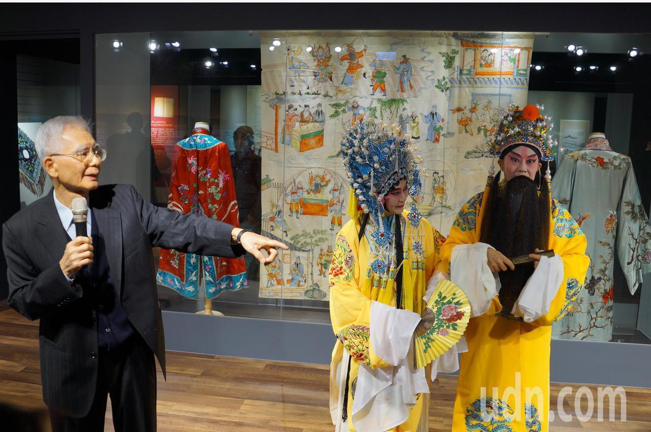 洪惟助教授是促成中大成立崑曲博物館的靈魂人物。記者鄭國樑/攝影