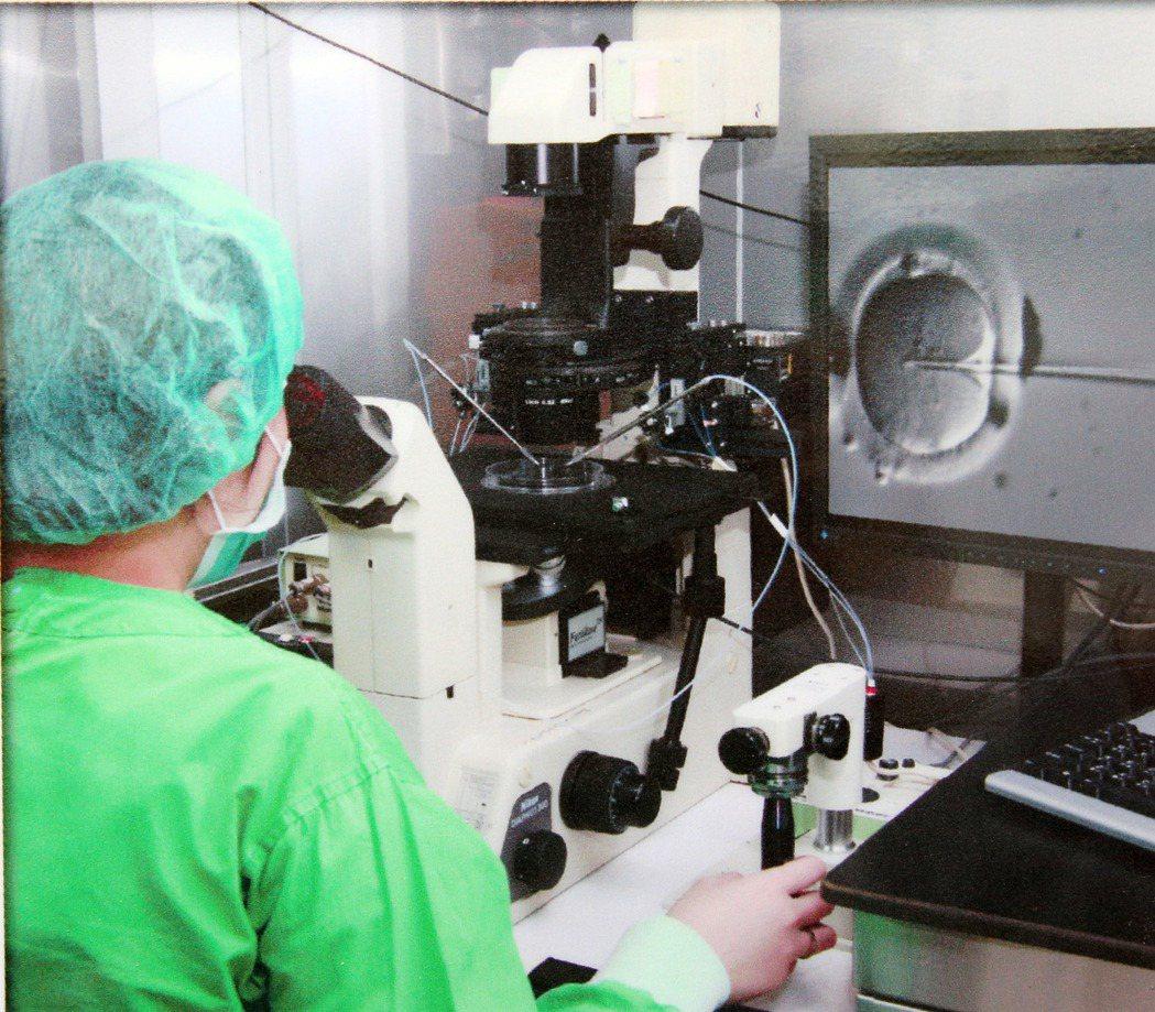 根據人工生殖法,受術者需有夫妻關係。圖/本報資料照片