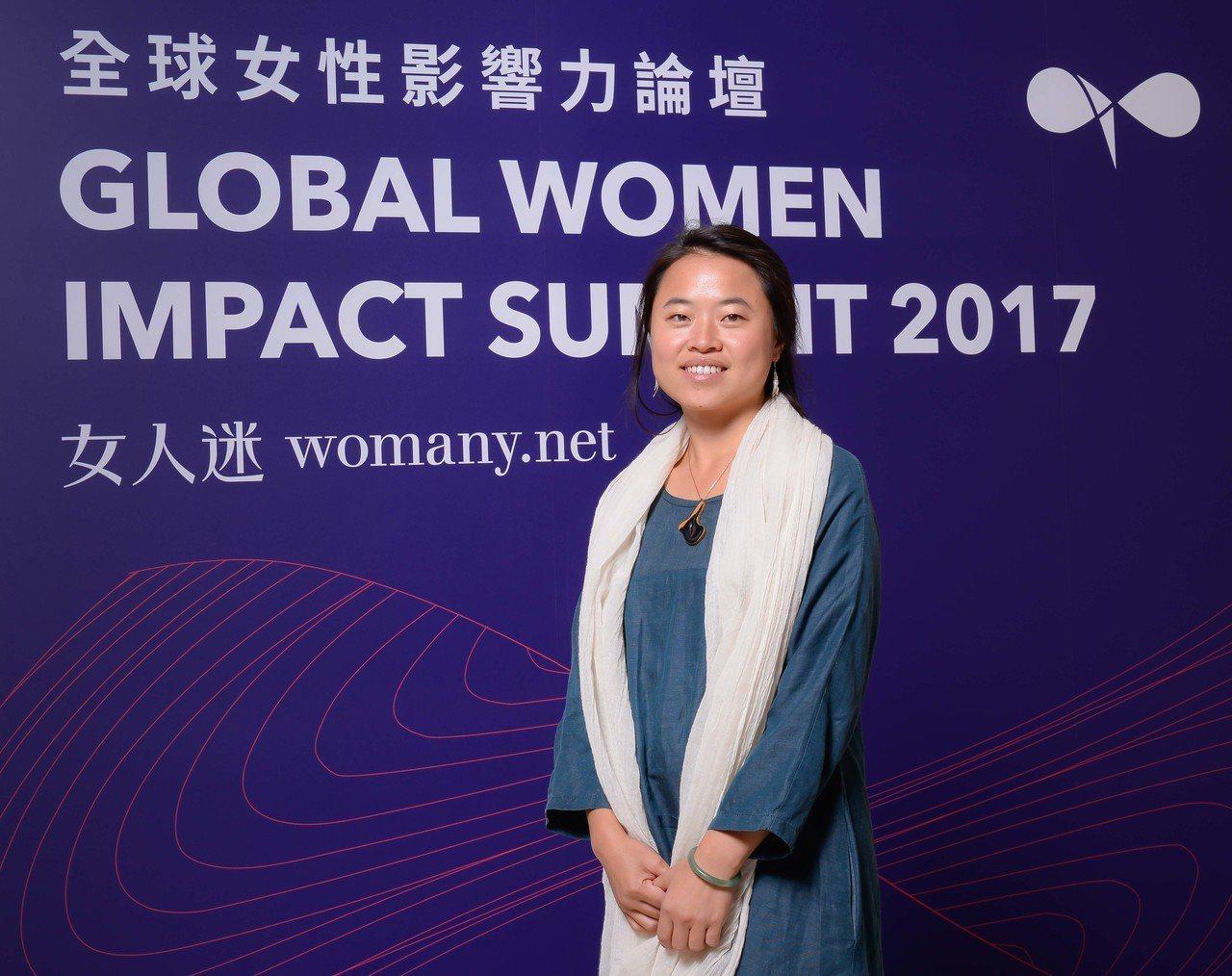 入選BBC年度百大女性棉樂悅事創辦人林念慈擔任「全球女性影響力論壇」講者。 圖/...