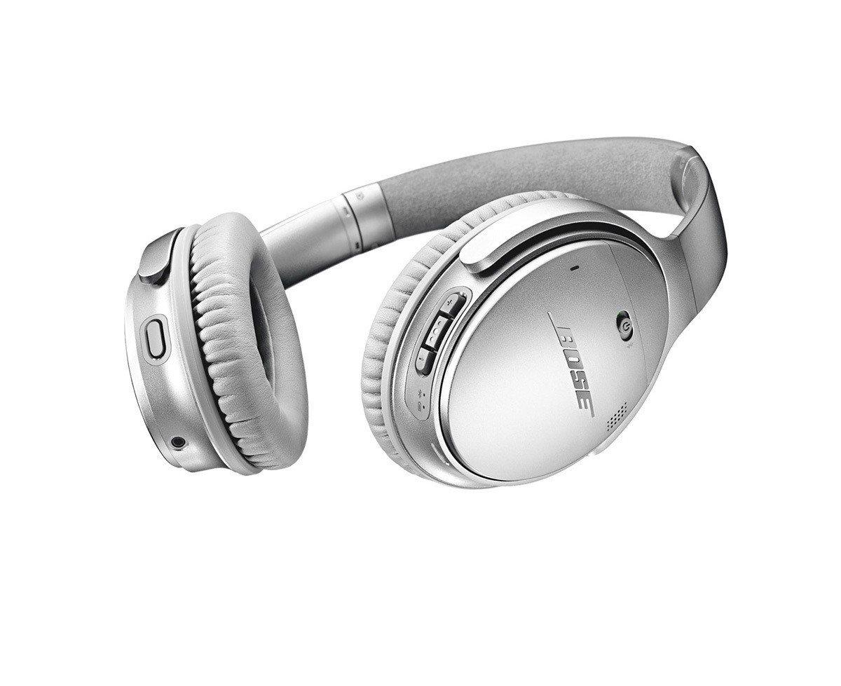 新一代Bose® QC® 35消噪耳機性能升級,有效解決生活中的噪音困擾。 圖/...