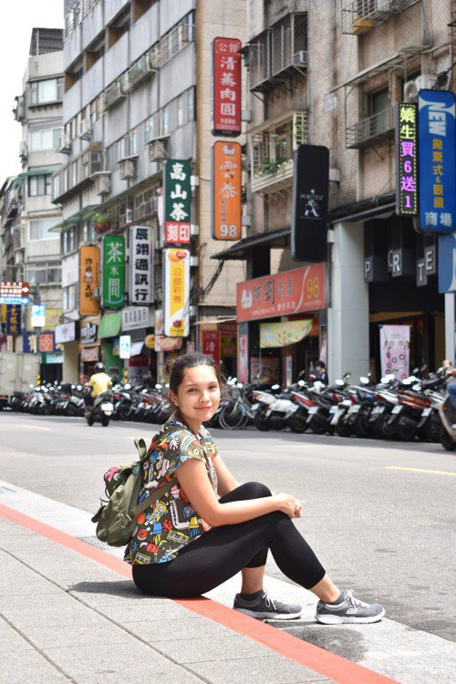 擁有四分之一華人血統巴安莉今年7月甫從臺灣大學畢業