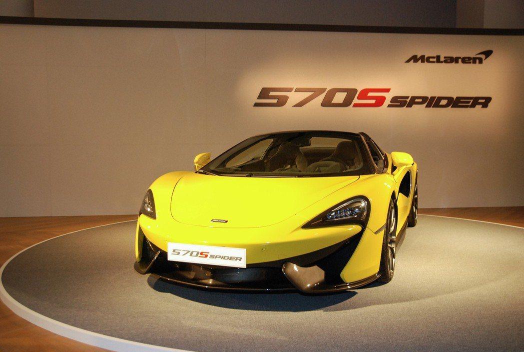McLaren 570S Spider為第3款McLaren Sports Se...