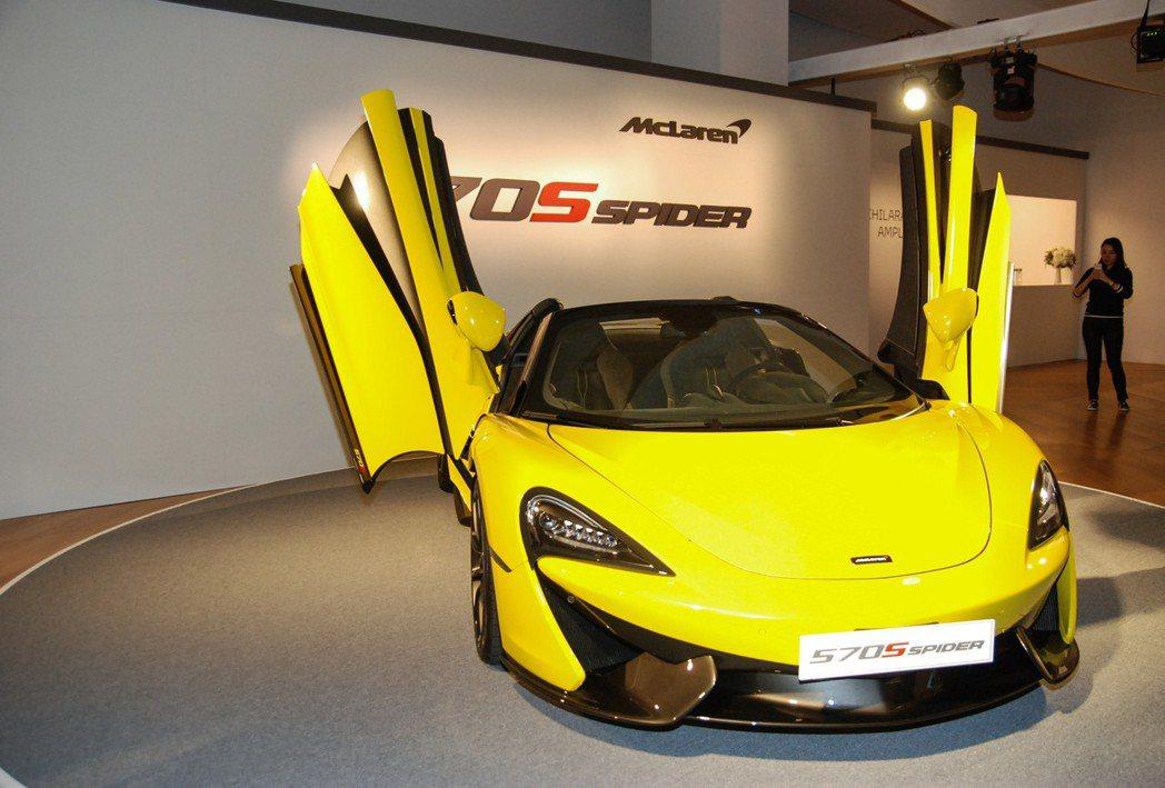 圖為 Sicilian Yellow 新車色。 記者林鼎智/攝影